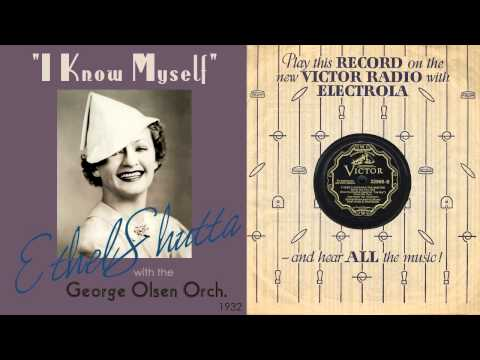 1932, I Know Myself, George Olsen Orch. Hi Def 78RPM .wmv