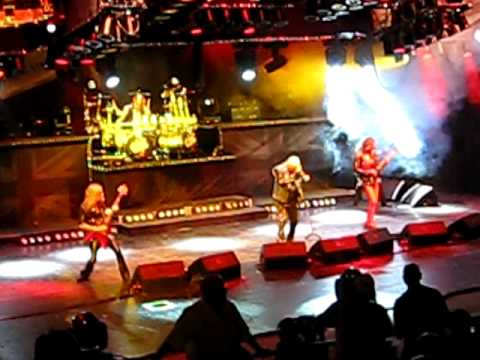 Judas Priest Opening, Rapid Fire - Red Rocks CO, Aug 11 2009
