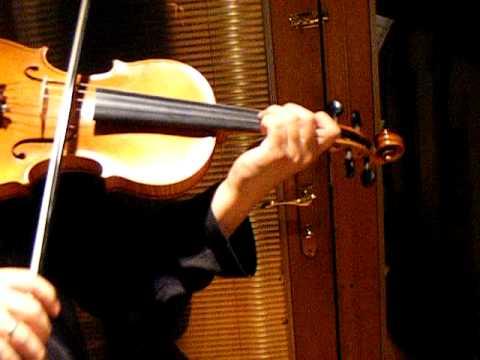TCHAIKOVSKY VIOLIN CONCERTO, 1st Mov, Solo Sound Sample, American Violin, Eboyinc