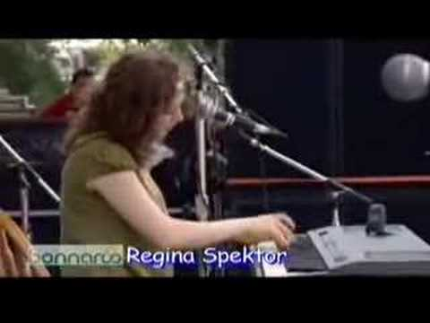 Regina Spektor - Real Love (Bonnaroo 2007)