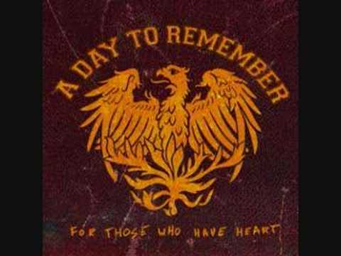 A day to remember - You should have killed me when you had..