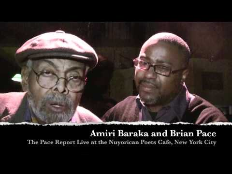"The Pace Report: ""Amiri Baraka`s Blue Ark"" The Amiri Baraka Interview featuring Amina Baraka"