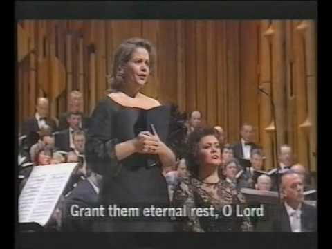 "Renee Fleming ""Liberame Domine"" Verdi` Requiem"