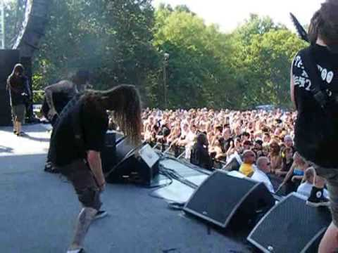 "Suicide Silence ""Bludgeoned to Death"" 8/15/09 Edgefest V by Arkansas Rocks! Ent"