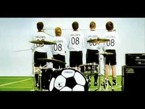 OFFIZIELLE EM HYMNE Revolverheld - Helden 2008