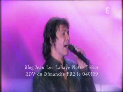 """Jean Luc Lahaye """"femme que j`aime""""emission vivement dimanche 040109"""