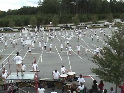 Pride of Mill Creek marching band - Band Camp 2009 part 3 of 3