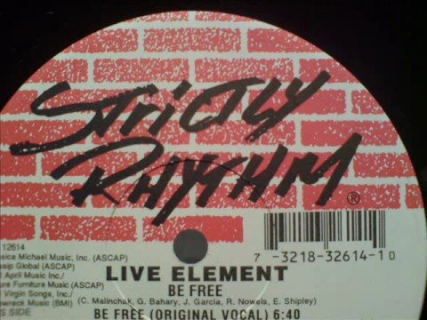 Live Element `Be Free `