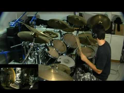 Death Spirit crusher (drum cover) Edoardo De Muro (Natrium drummer)