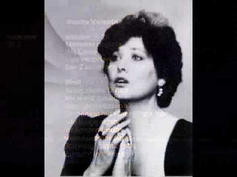 Benita Valente: Mein Liebster Singt (Wolf) - 1975 Performance - Lyrics in German