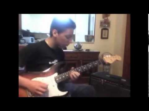 "Romeo Fortunato Testing a Fender Strat ""Custom Shop Designed"" + Fender ""THE TWIN"" Red Knob"
