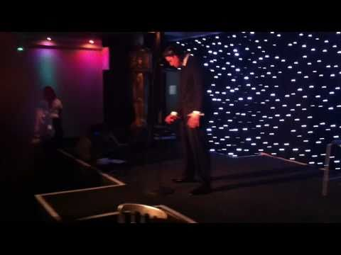 Rickie Arthur as `Buble Fever` - introduced Ricky Tomlinson