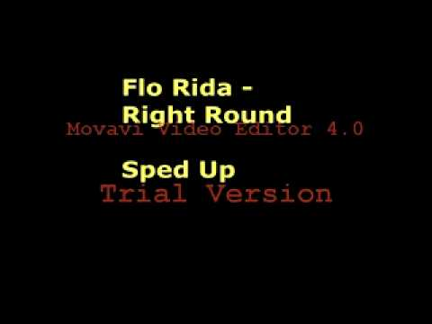 Flo Rida - Right Round Sped Up