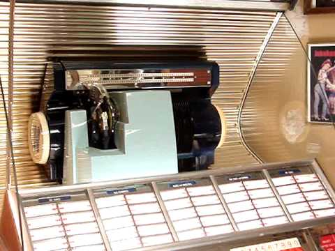 I love you for sentimental reasons - The Righteous Bros played on a 1954 Seeburg jukebox