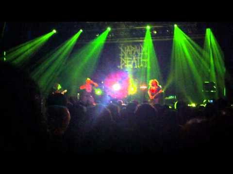 "Napalm Death ""Continuing war on stupidity / Next on the list"" live in Lille, FR (2010-11-10)"