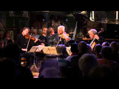 Ris�r in New York: Brahms`s Piano Quartet No. 1 in G Minor, Allegro (Part 2)