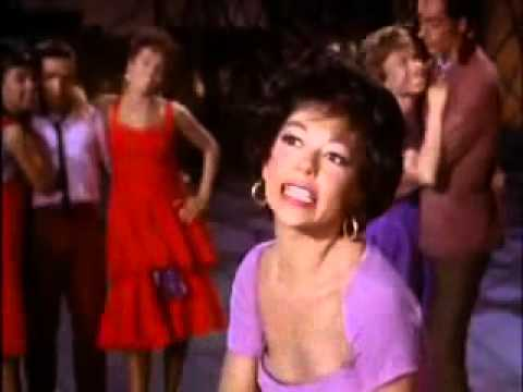 L.BERNSTEIN - WEST SIDE STORY - AMERICA (full), English subtitles