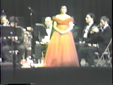 Charlotte Black Performs Let The Bright Seraphim 2 / Ave Maria 1