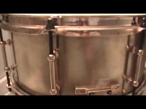 Solid Bell Brass Snare Made by Rob Kampa