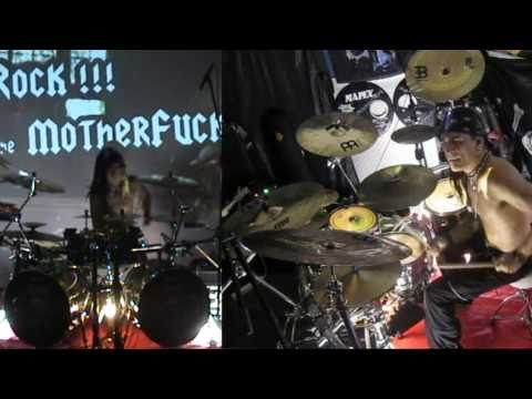 FRANKY_COSTANZA_Drumming_on_ROB_ZOMBIE_Sick_Bubble_Gum.mpg