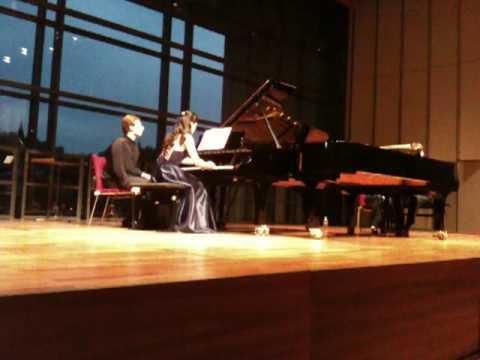Ya-Fei Chuang, Robert Levin play Lutoslawski