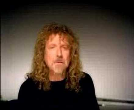 Robert Plant`s tribute to Jimmy Page