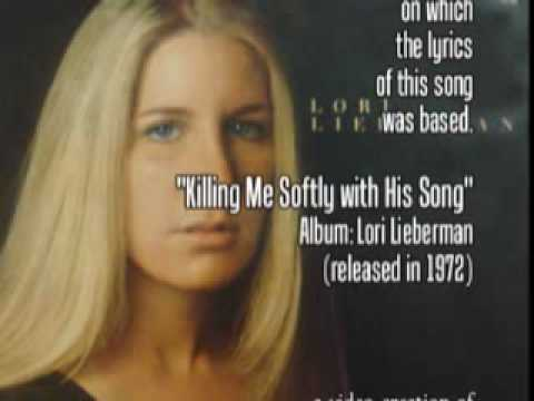 ♫ Killing Me Softly with His Song (1972) ♫ Lori Lieberman