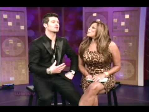 Robin Thicke on The Wendy Williams Show 02/18/2010