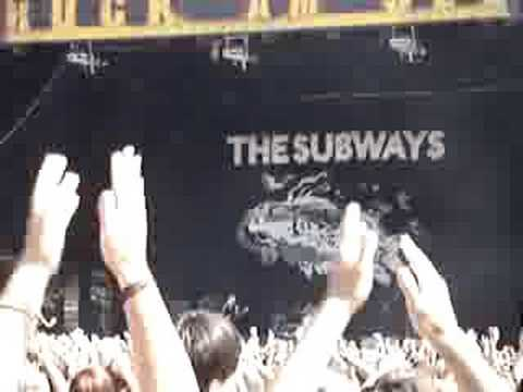 The Subways - Rock`n`Roll Queen - Rock am See 2008