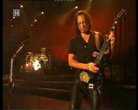 Metallica - Kirk Hammet live solo Battery