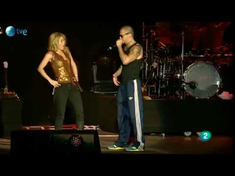 Gordita - Shakira y Ren� de Calle 13 - Rock in Rio Madrid 2010
