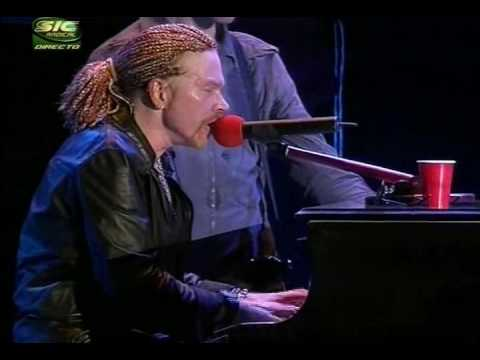 Guns N` Roses November rain rock in rio 2006