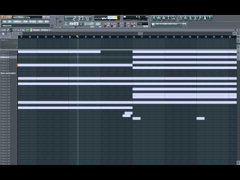 Hip Hop/Rap Beat (FL Studio 9)