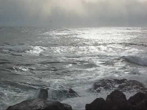 Yoga Meditation Indian Drone w Ocean Waves Sound Music Video Relaxation Devanagari Tambura Tanpura