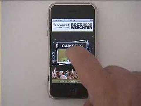 iPhone Rock Werchter 2008 Guide