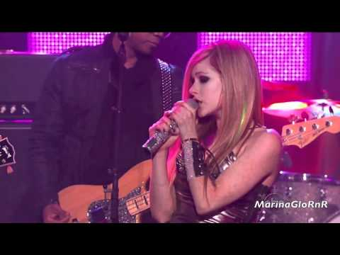 Avril Lavigne What The Hell Live HD