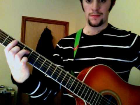 Elliott Smith - Roman Candle guitar tutorial (Part 2)
