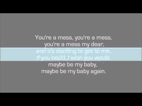 Romance On A Rocketship - Be My Baby Again (lyrics)