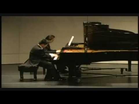 Rachmaninoff Rhapsody on a Theme of Paganini Part 1 (2 pianos)
