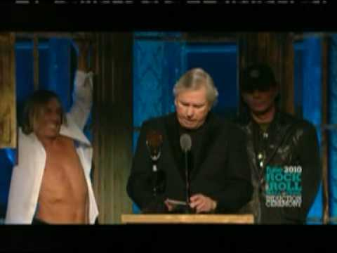 Rock N` Roll Hall of Fame 2010: The Stooges induction ceremony (Part 2)