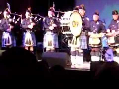Port Authority Pipe Band at Peekskill NY