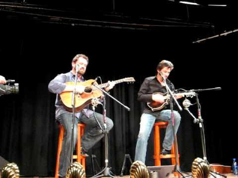 "Dan Tyminski and Ronnie Bowman ""Dark Hollow"" 02 19 2010"