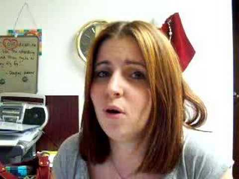 me singing I Don`t Want To by Ashley Monroe ft. Ronnie Dunn