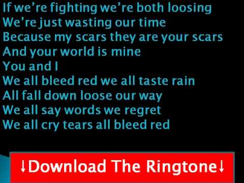 Ronnie Dunn - Bleed Red Lyrics