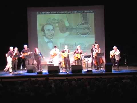 """My Back Pages"" at Martin Guitar 175th Anniversary Concert"