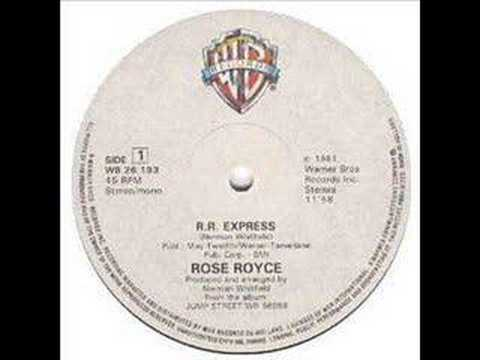 Rose Royce - RR Express ( Rose Royce Express ) 1981