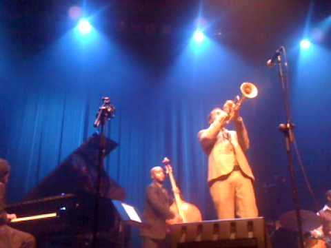 "Roy Hargrove ""I`m Not So Sure"" 14-11-2009 in Chasse Breda"