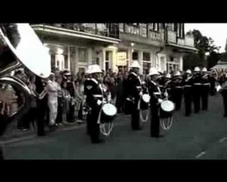 Royal Marines Band BRNC - Dartmouth Regatta 2007