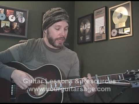 Guitar Lessons - Hallelujah by Rufus Wainwright, Jeff Buckley , Leonard Cohen Shrek Beginner