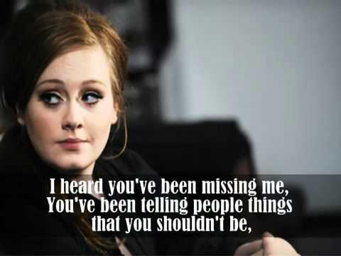 Rumor Has It [HQ] by Adele lyrics + Ringtone Download